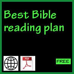 Best Bible reading plan