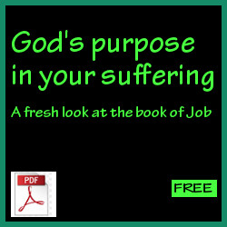 God's purpose in your suffering