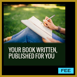 Your book written / published for you